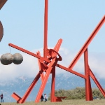 Mark di Suvero at Crissy Field thumbnail